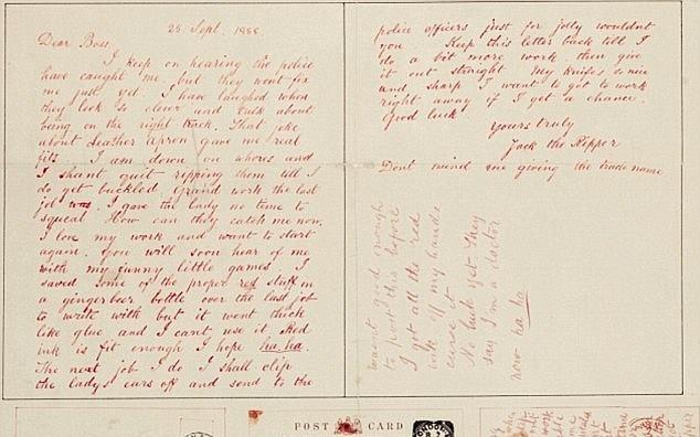 Vụ án bí ẩn Jack the Ripper: Hàng loạt lá thư đe dọa gửi đến cảnh sát và đây là phát hiện mới của khoa học hiện đại