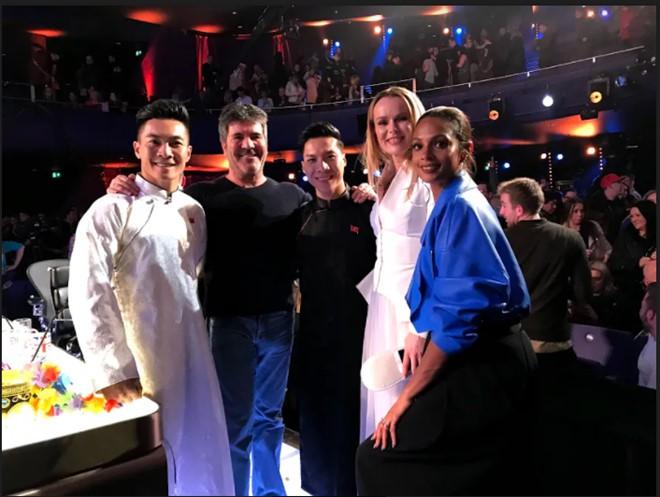 Quốc Cơ - Quốc Nghiệp đi tiếp vào vòng 2, khiến giám khảo Britains Got Talent bất ngờ về tài năng Việt - Ảnh 1.