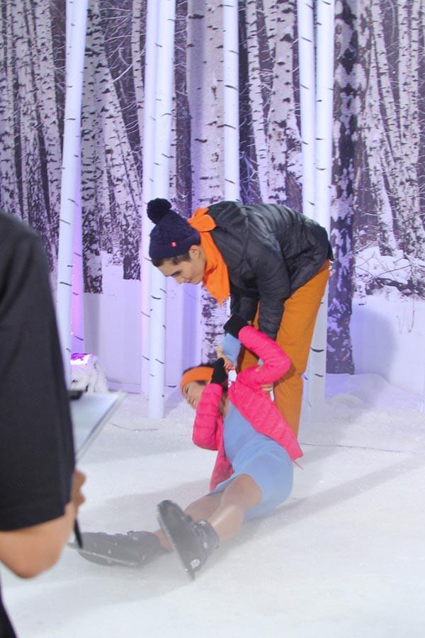 Hoa hậu H'Hen Niê từng té lên té xuống khi chụp hình với chó tại Next Top Model - ảnh 3