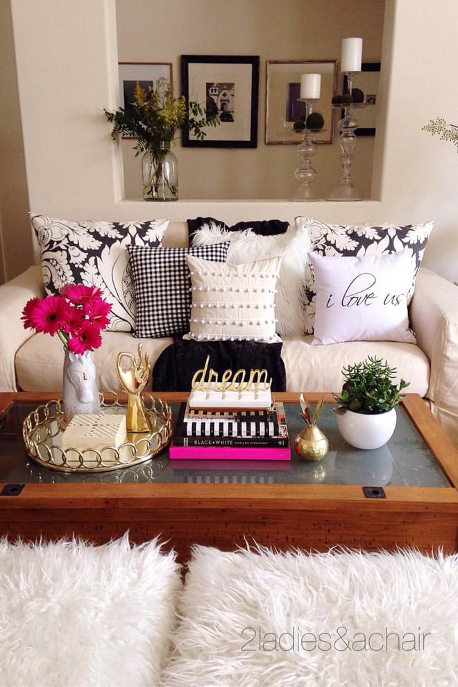 14 cách làm đẹp phòng khách với hoa hân hoan đón mùa Xuân đang về  - Ảnh 2.