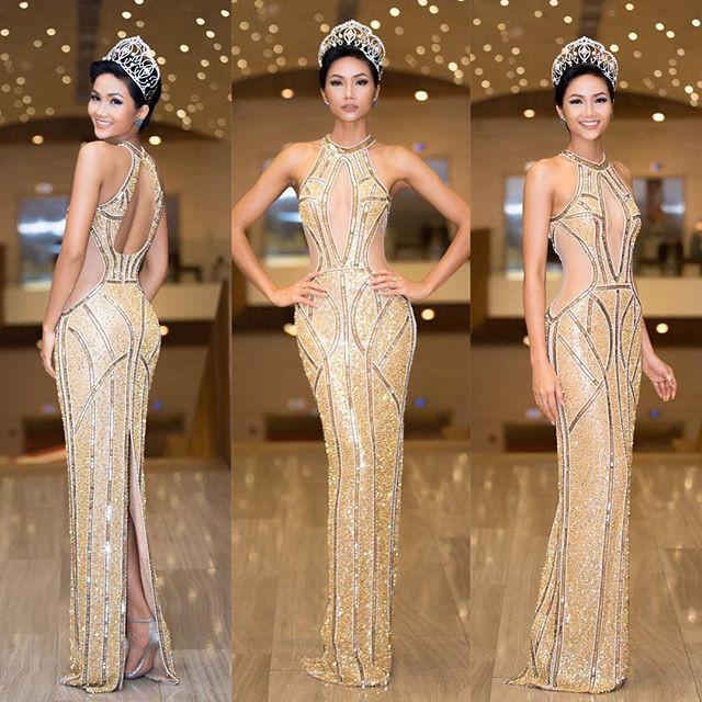 Từ sau khi đăng quang, Hoa hậu HHen Niê rất chăm chỉ thay đổi phong cách thời trang  - Ảnh 1.