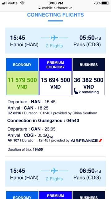 Xôn xao câu chuyện vé máy bay đi châu Âu của hãng Air France chỉ rẻ có 4,6 triệu đồng: Vé rẻ như vậy là do đâu? - Ảnh 2.