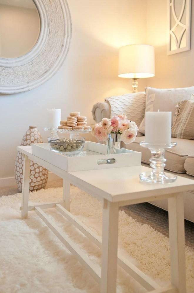 14 cách làm đẹp phòng khách với hoa hân hoan đón mùa Xuân đang về  - Ảnh 6.