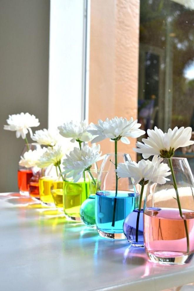 14 cách làm đẹp phòng khách với hoa hân hoan đón mùa Xuân đang về  - Ảnh 10.