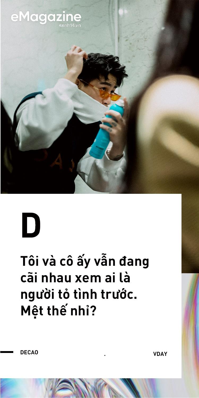 Châu Bùi - Decao: Ngồi xuống kể hết chuyện yêu nhau - Ảnh 2.