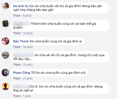 Hà Anh, Bảo Thanh gửi lời chia buồn khi bố MC Thảo Vân đột ngột qua đời - Ảnh 2.