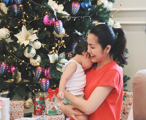 Mới 3 tuổi, quý tử nhà Hà Tăng đã biết pha trò khiến mẹ phát hoảng - Ảnh 2.
