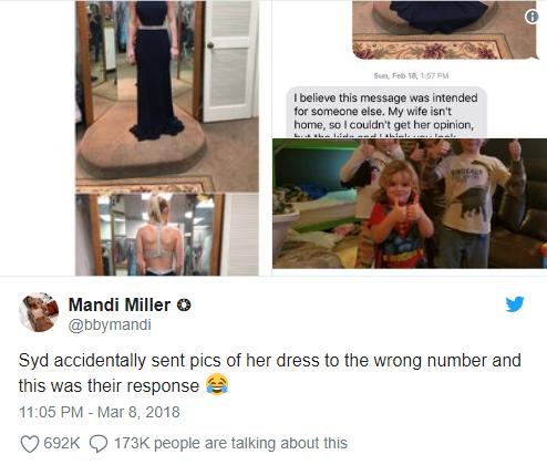 Cô gái gửi nhầm một bức ảnh trong phòng thay đồ cho người đàn ông xa lạ và đoạn kết không thể nào ấm lòng hơn - ảnh 3