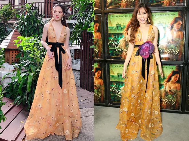 Một chiếc váy hai số phận, không tin bạn cứ nhìn hai người đẹp tên Hương Giang này là thấy ngay - Ảnh 7.