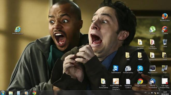 Vui: Tổng hợp loạt hình nền máy tính hài hước nhất, Internet Explorer chuyên bị bắt nạt - ảnh 2
