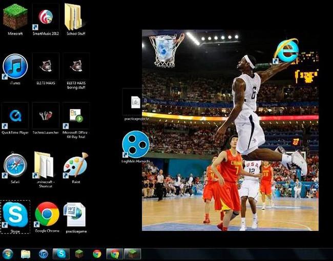 Vui: Tổng hợp loạt hình nền máy tính hài hước nhất, Internet Explorer chuyên bị bắt nạt - ảnh 13