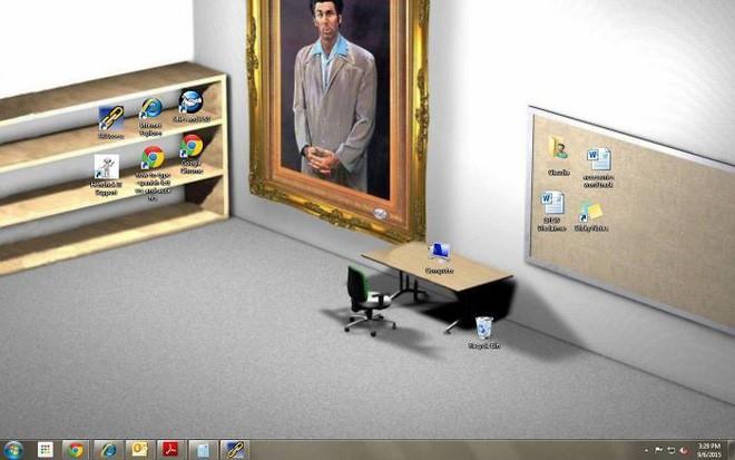 Vui: Tổng hợp loạt hình nền máy tính hài hước nhất, Internet Explorer chuyên bị bắt nạt - ảnh 4
