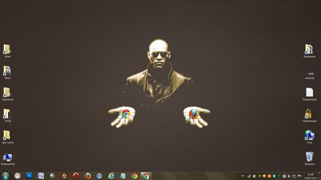 Vui: Tổng hợp loạt hình nền máy tính hài hước nhất, Internet Explorer chuyên bị bắt nạt - ảnh 6