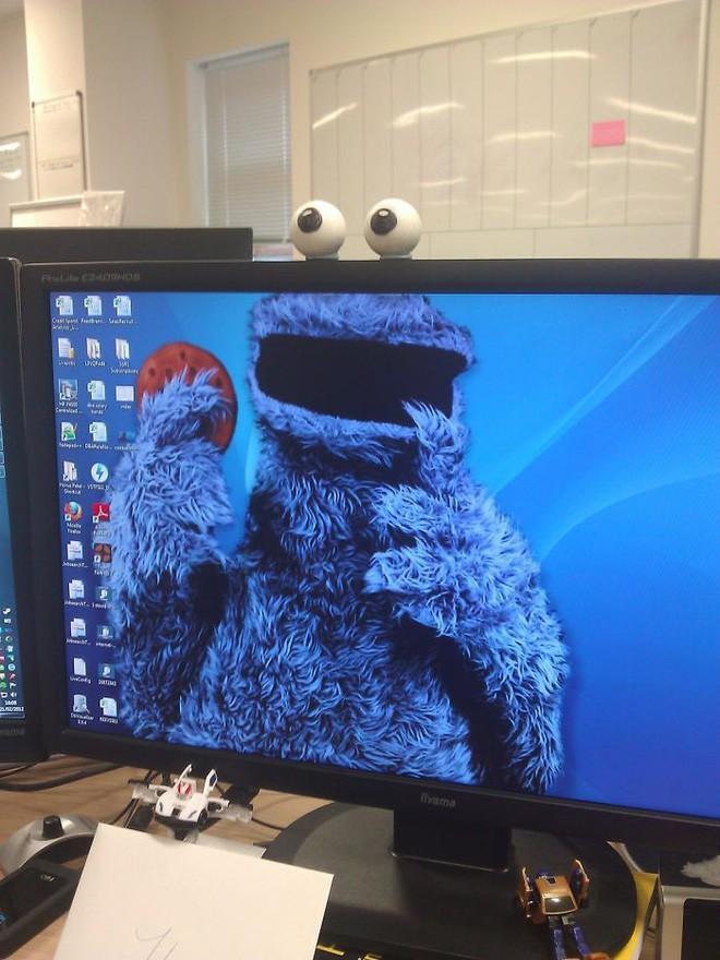 Vui: Tổng hợp loạt hình nền máy tính hài hước nhất, Internet Explorer chuyên bị bắt nạt - ảnh 8
