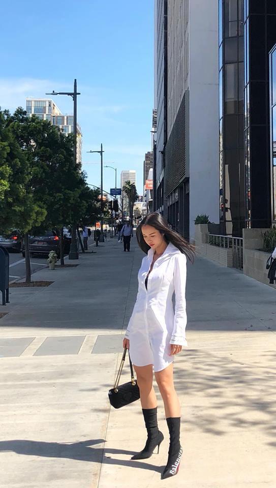 Chẳng còn hứng thú khoe street style sành điệu, Hà Hồ - Phạm Hương lại muốn xem ai lạ hơn ai - ảnh 9