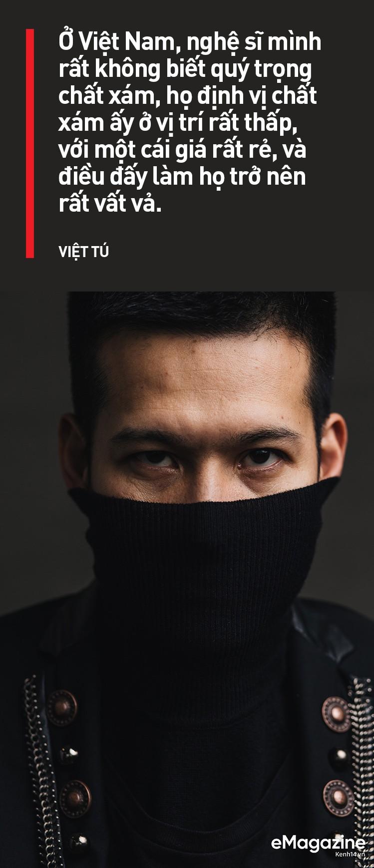Đạo diễn Việt Tú: Ở Việt Nam, đa phần nghệ sĩ chưa biết quý trọng chất xám, và điều đấy khiến họ vất vả - Ảnh 12.