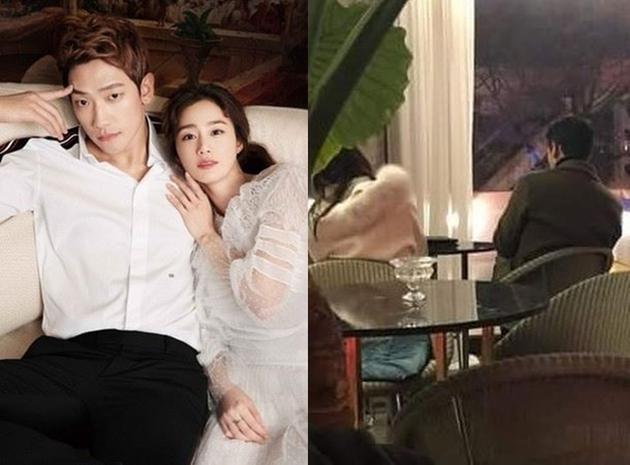 Cặp đôi Bi Rain - Kim Tae Hee rủ nhau trốn con, tận hưởng không gian hai người lãng mạn - ảnh 2