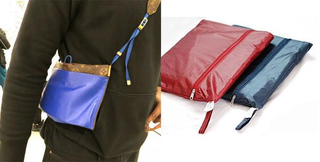 Đố bạn: Tìm sự khác biệt giữa mẫu túi mới của Louis Vuitton với túi đựng áo mưa - ảnh 5