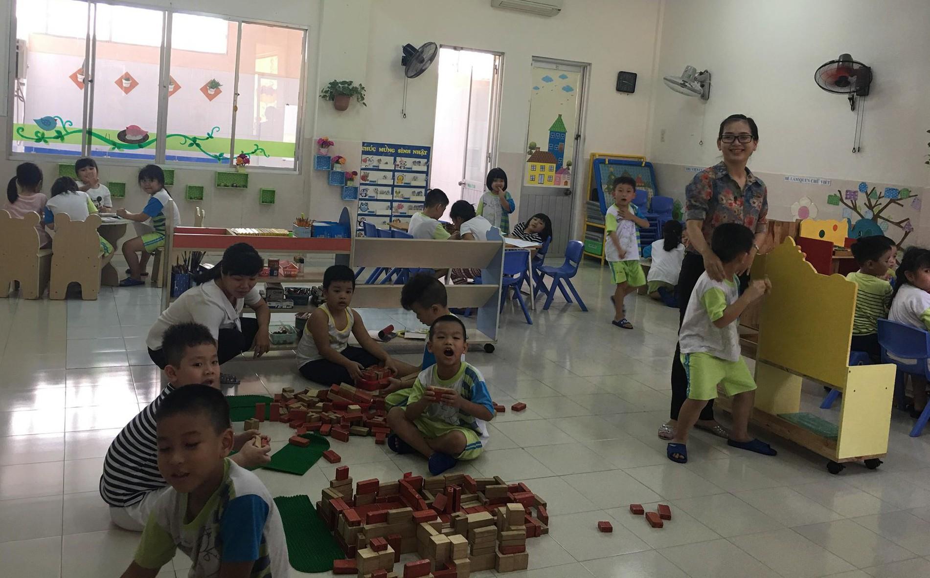 Đình chỉ giáo viên mầm non dọa nạt trẻ ở Sài Gòn: