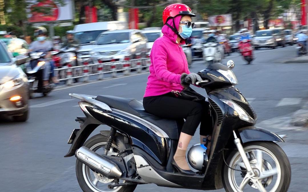 Miền Bắc sắp chuyển mưa rét, nhiệt độ Hà Nội giảm 9 độ C