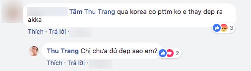 Sau chuyến đi Hàn, gương mặt của Hoa hậu hài Thu Trang ngày càng lạ lẫm? - Ảnh 6.