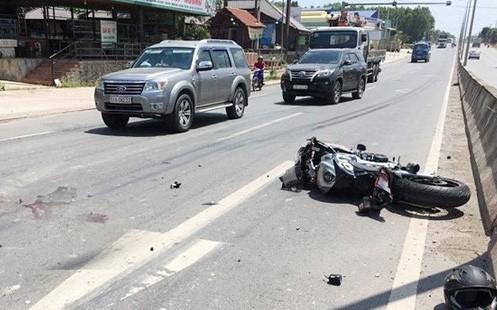 Đồng Nai: Va chạm với xe tải, thanh niên điều khiển xe mô tô tử nạn