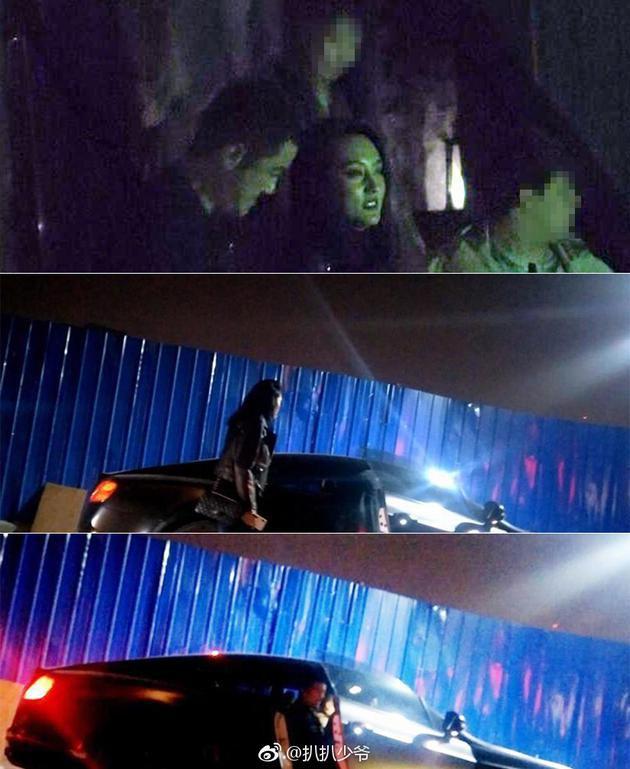 Lộ ảnh gái lạ hẹn hò với Lý Á Bằng, thản nhiên ôm ấp ngồi lên đùi nam tài tử - Ảnh 1.
