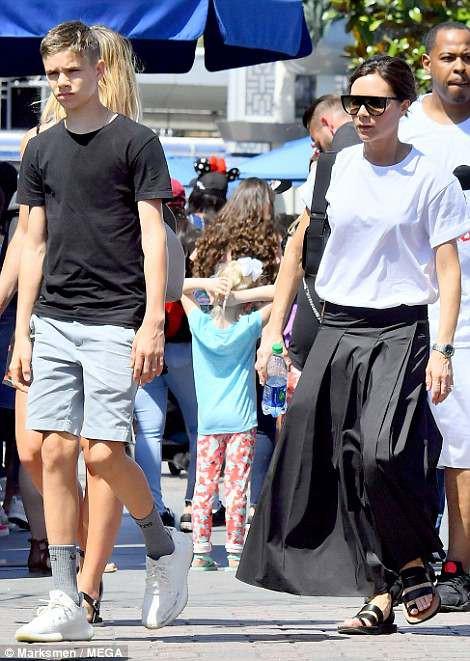 Các con nhà Beckham đều đã cực cao lớn, đặc biệt Harper cho thấy tiềm năng trở thành siêu mẫu - Ảnh 5.