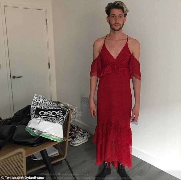 Chàng trai bị Internet trêu vì đặt mua quần và kính râm nhưng trúng ngay váy hai dây - Ảnh 1.