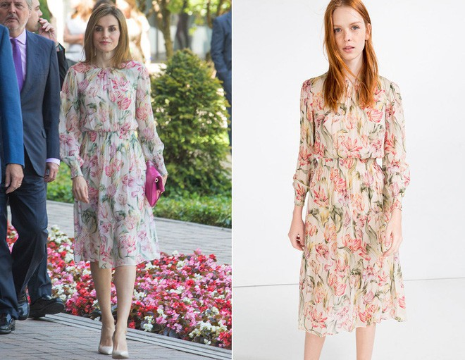 Trang phục giúp Hoàng hậu Letizia tỏa sáng không thể thiếu những món đồ đến từ thương hiệu Zara - ảnh 11