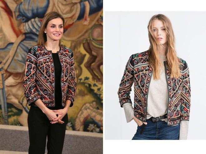 Trang phục giúp Hoàng hậu Letizia tỏa sáng không thể thiếu những món đồ đến từ thương hiệu Zara - ảnh 13