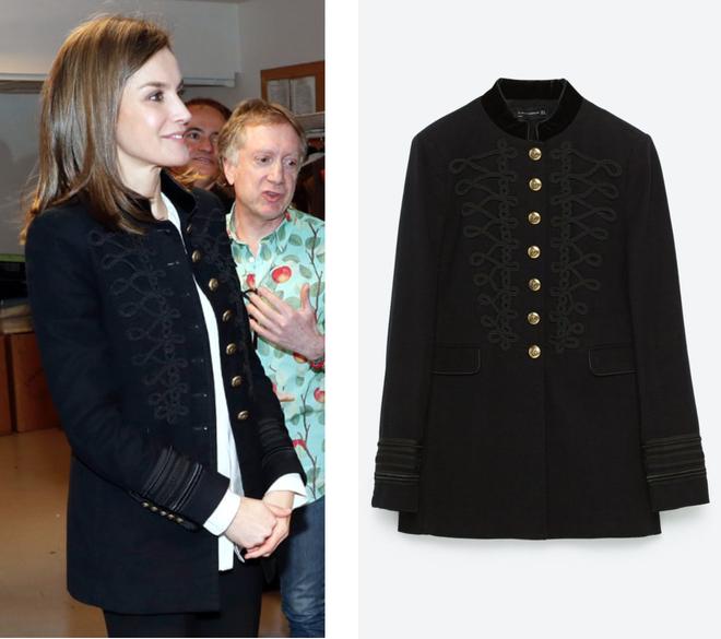 Trang phục giúp Hoàng hậu Letizia tỏa sáng không thể thiếu những món đồ đến từ thương hiệu Zara - ảnh 4