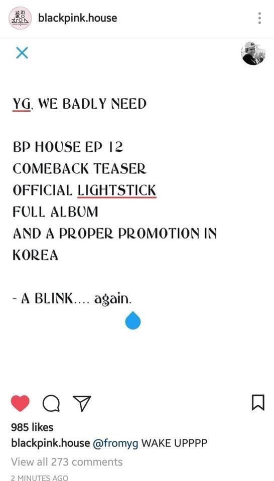 Black Pink mãi không trở lại, fan... hack Instagram dằn mặt bố Yang - Ảnh 1.