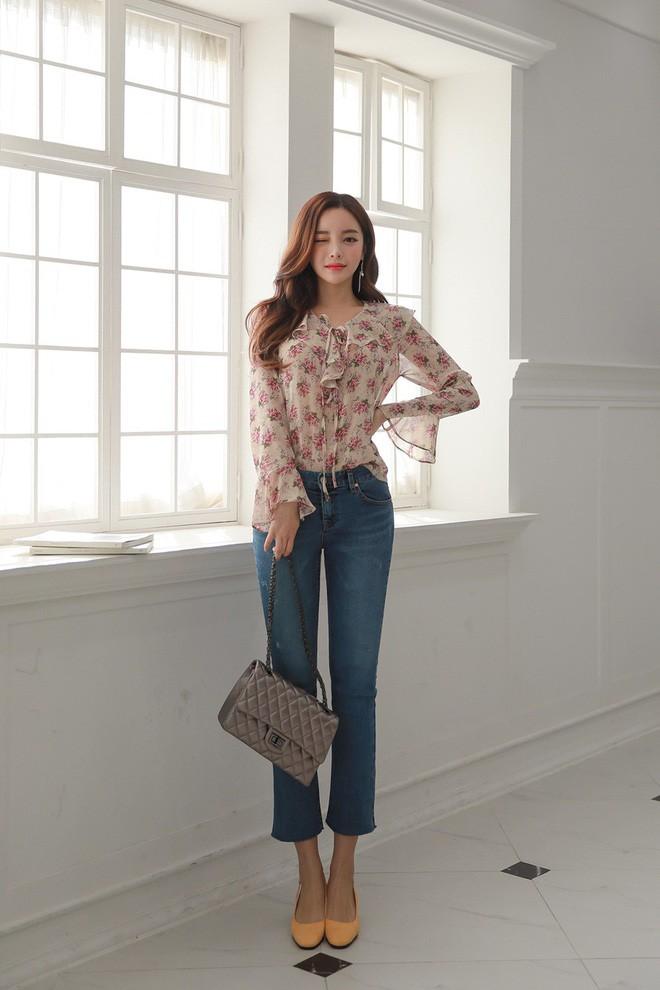 4 lưu ý giúp bạn diện quần jeans ống vẩy max đẹp - ảnh 7