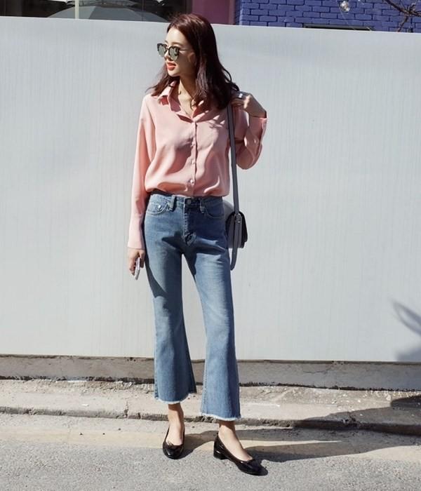 4 lưu ý giúp bạn diện quần jeans ống vẩy max đẹp - ảnh 9