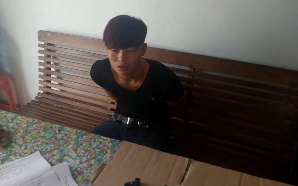Nghệ An: Lên mạng tự học cách chế tạo súng bán kiếm lời, nam thanh niên bị bắt tạm giam