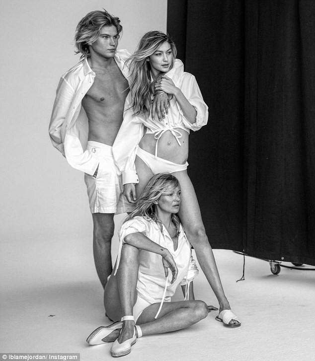 Đăng ảnh chụp với Gigi Hadid, Kate Moss chơi đểu khi cố tình che mặt đàn em - ảnh 6