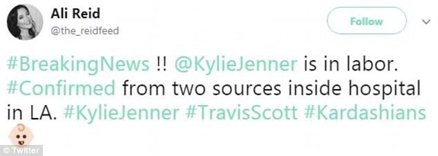 Fan xôn xao trên mạng xã hội vì cho rằng Kylie Jenner đã vào bệnh viện sinh con - Ảnh 4.