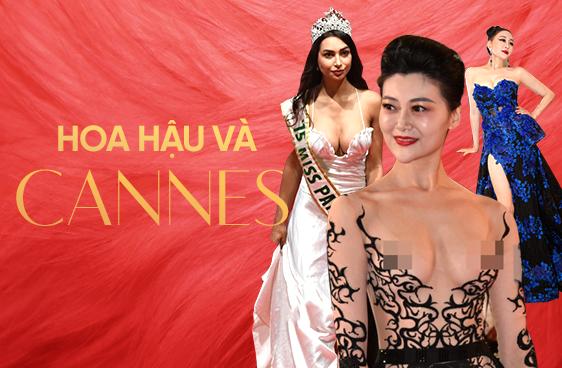 Không phải mỹ nhân vô danh, chính Hoa hậu mới là những kẻ náo loạn thảm đỏ Cannes 2018 - Ảnh 1.