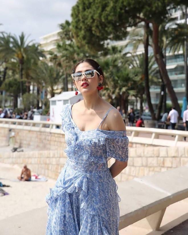Chẳng phải Phạm Băng Băng hay dàn sao Hollywood, mỹ nhân Thái Chompoo Araya mới là người chiếm sóng thảm đỏ trong 5 ngày ở Cannes - Ảnh 20.