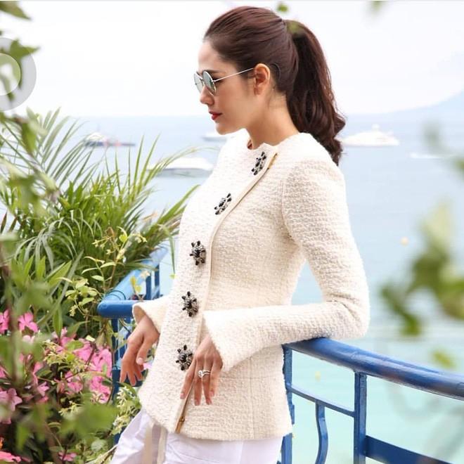Chẳng phải Phạm Băng Băng hay dàn sao Hollywood, mỹ nhân Thái Chompoo Araya mới là người chiếm sóng thảm đỏ trong 5 ngày ở Cannes - Ảnh 24.