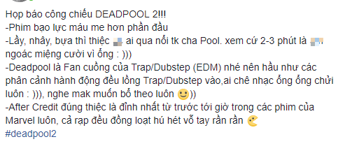 Fan Việt cười sảng sau khi xem bom tấn hài bựa Deadpool 2 - ảnh 2