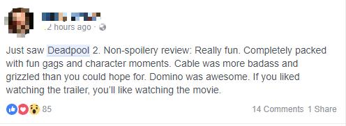 Fan Việt cười sảng sau khi xem bom tấn hài bựa Deadpool 2 - ảnh 7