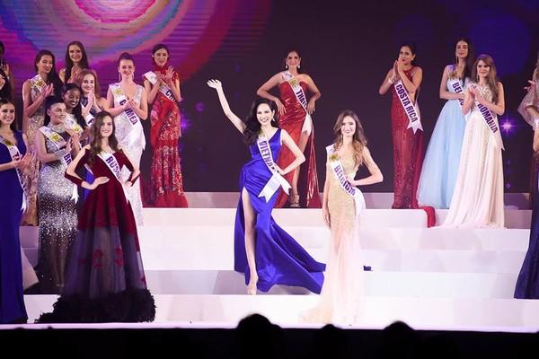 Người đẹp Brazil đăng quang Nữ hoàng Du lịch Quốc tế 2018, đại diện Việt Nam dừng chân ở Top 10 - ảnh 2