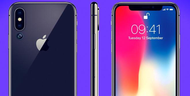 iPhone 2019 sẽ có 3 camera, chụp ảnh đẹp hơn và cảm biến vân tay dưới màn hình? - Ảnh 1.
