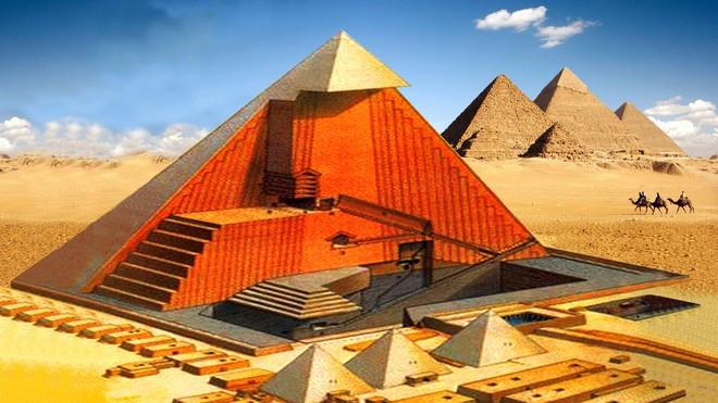 Sự thật về Giza: Không phải ngẫu nhiên mà kim tự tháp có khối lượng, chu vi như vậy! - Ảnh 3.