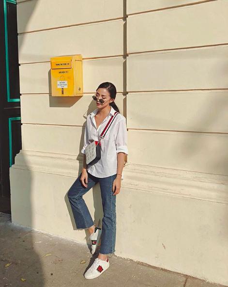 Soi ngay phong cách pose ảnh làm nên thương hiệu của các hotgirl Việt - ảnh 24