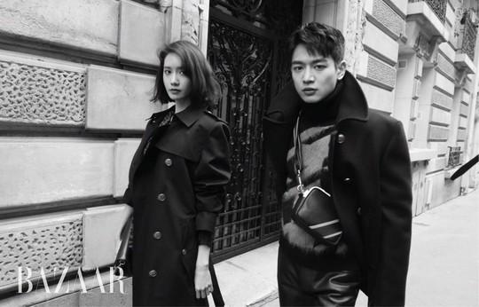 Gây bão vì như ông hoàng bà hoàng ở Paris từ tháng 3, Yoona và Minho ém kỹ giờ mới tung hình tạp chí - ảnh 3