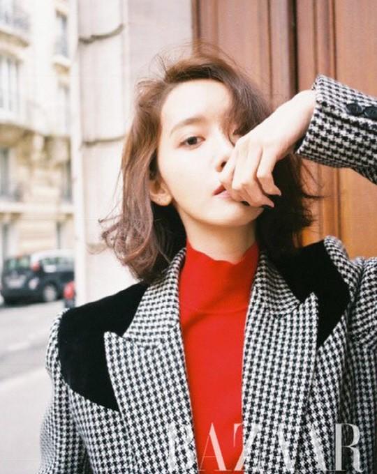 Gây bão vì như ông hoàng bà hoàng ở Paris từ tháng 3, Yoona và Minho ém kỹ giờ mới tung hình tạp chí - ảnh 2