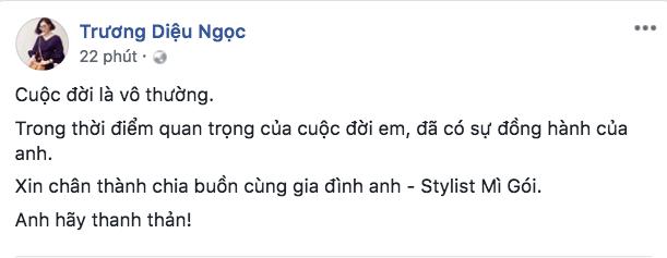 Đông Nhi, H'Hen Niê cùng loạt sao Việt sốc và bàng hoàng trước sự ra đi của stylist Mì Gói - ảnh 5